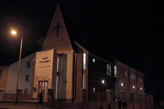 Ballygomartin Church Designed By Architectural Design Partnership, Holywood  ADP