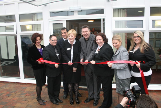 Norman Whiteside Opens Ballygomartin Home